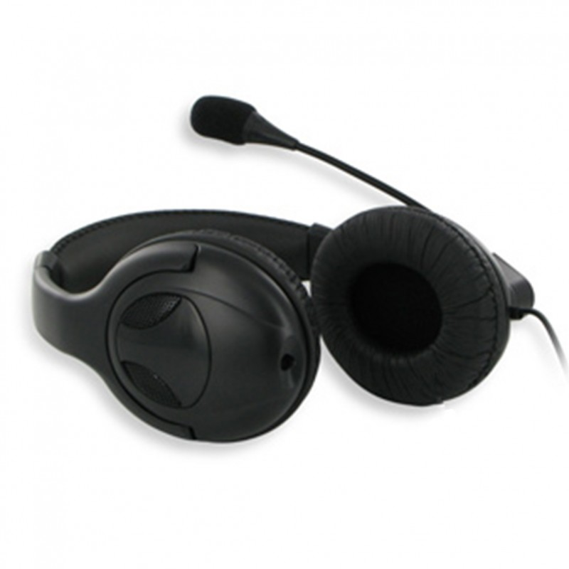 USB Wired Headphone With Mic