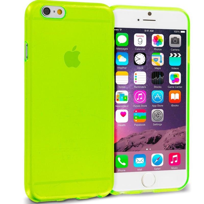 iphone 6s Professional TPU Rubber Skin Transparent Back Case
