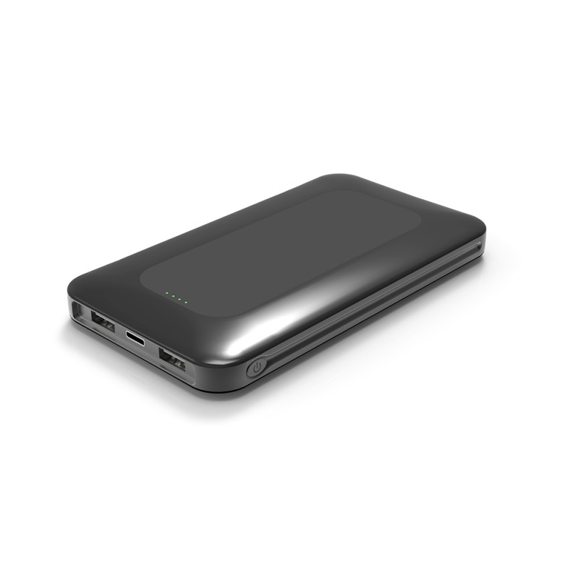 10000mAh Dual USB Port with Type C Powerbank