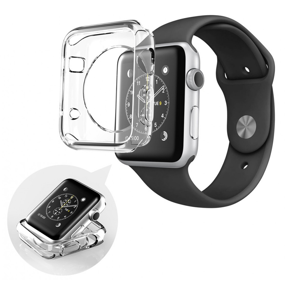 Clear Case Shell for Apple Watch