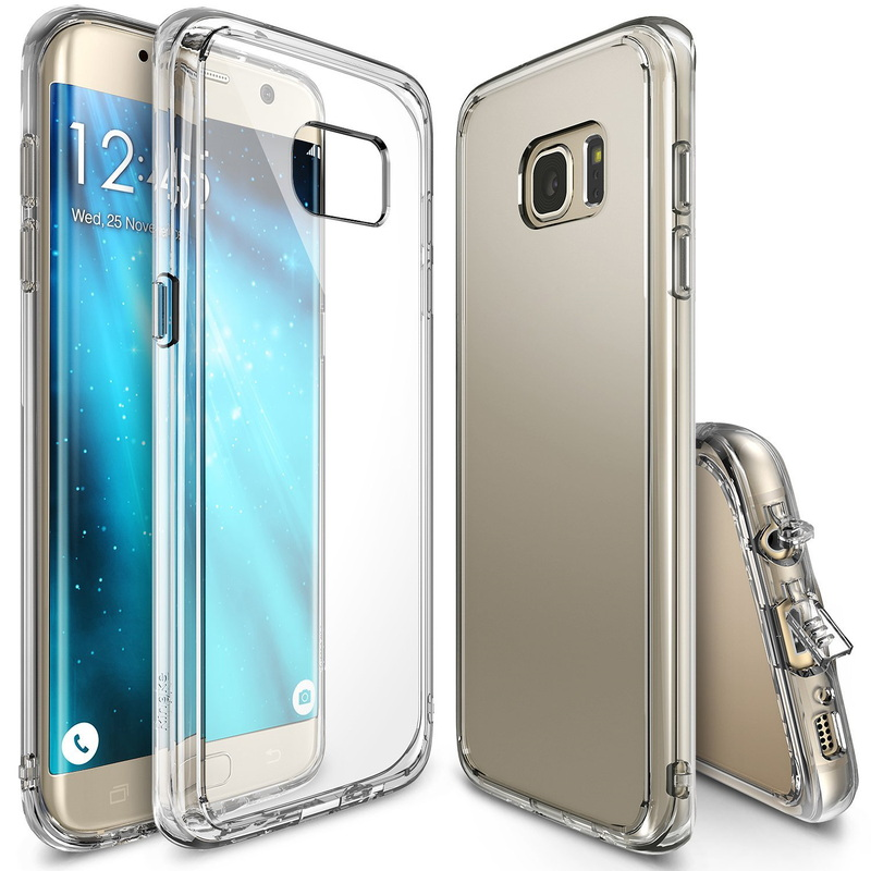 Premium TPU Clear Back Case for Samsung S7