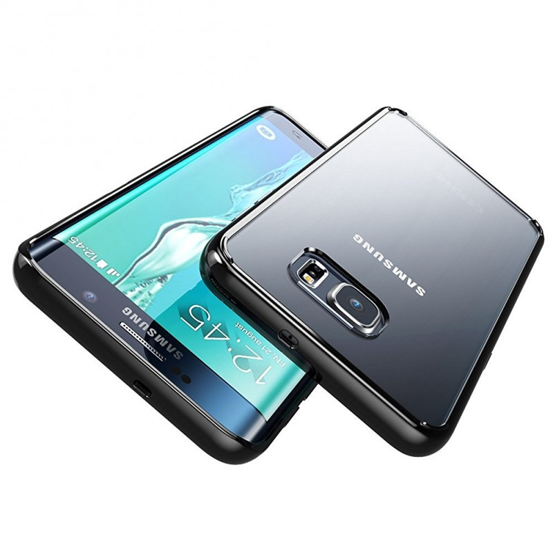 Samsung Galaxy S6 Edge Silicone TPU Bumper Hybrid Back Case