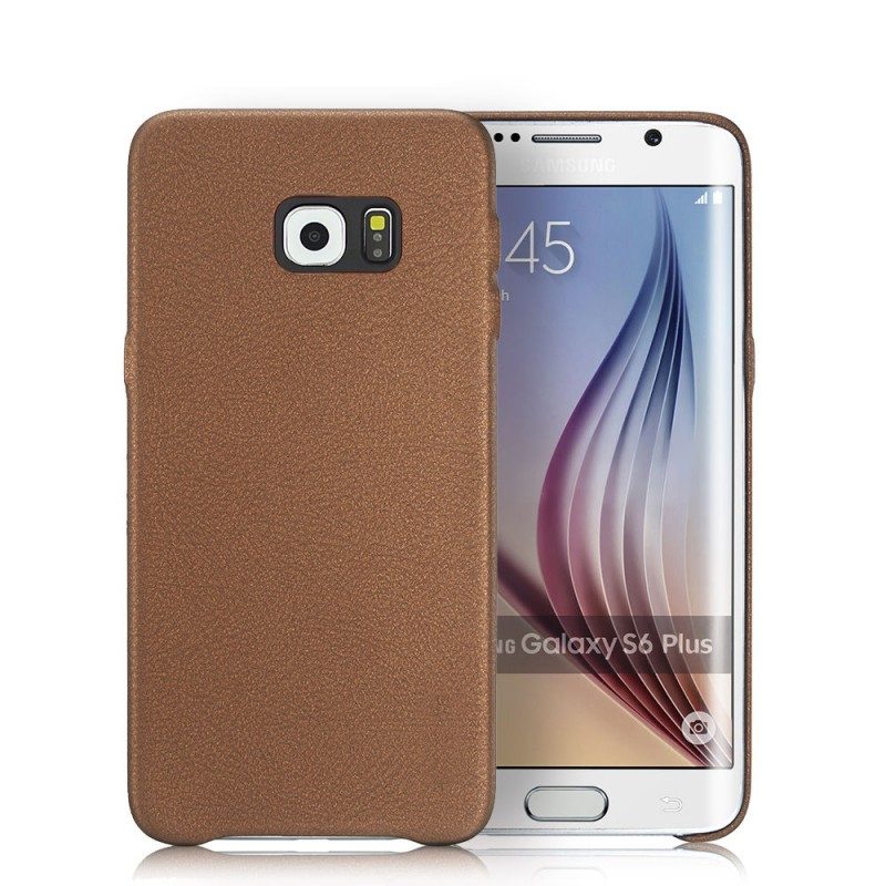 Samsung Galaxy S6/S6 Edge Shockproof Leather Slim Hard Back Case