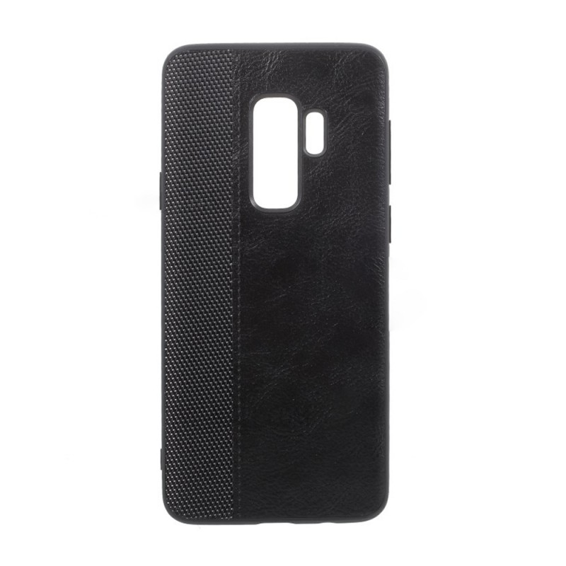 Trands Professional Luxury Leather Back Case for Samsung Galaxy S9 Plus