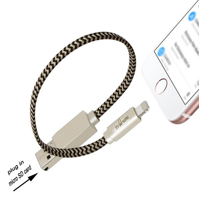 Lightning  Cable with Multifunction Card Reader