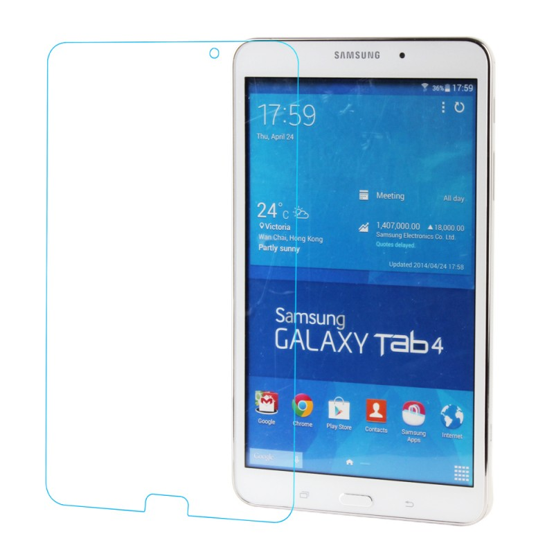 9H Super Hardness Tempered Glass Screen Protector for Samsung Galaxy Tab 4 7Inch