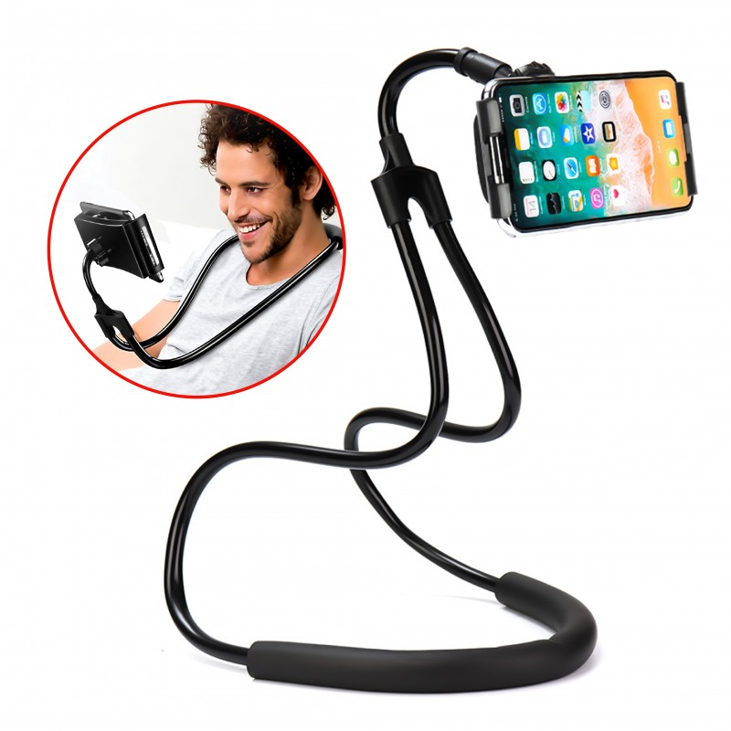 Hands Free Neck Held Phone Holder