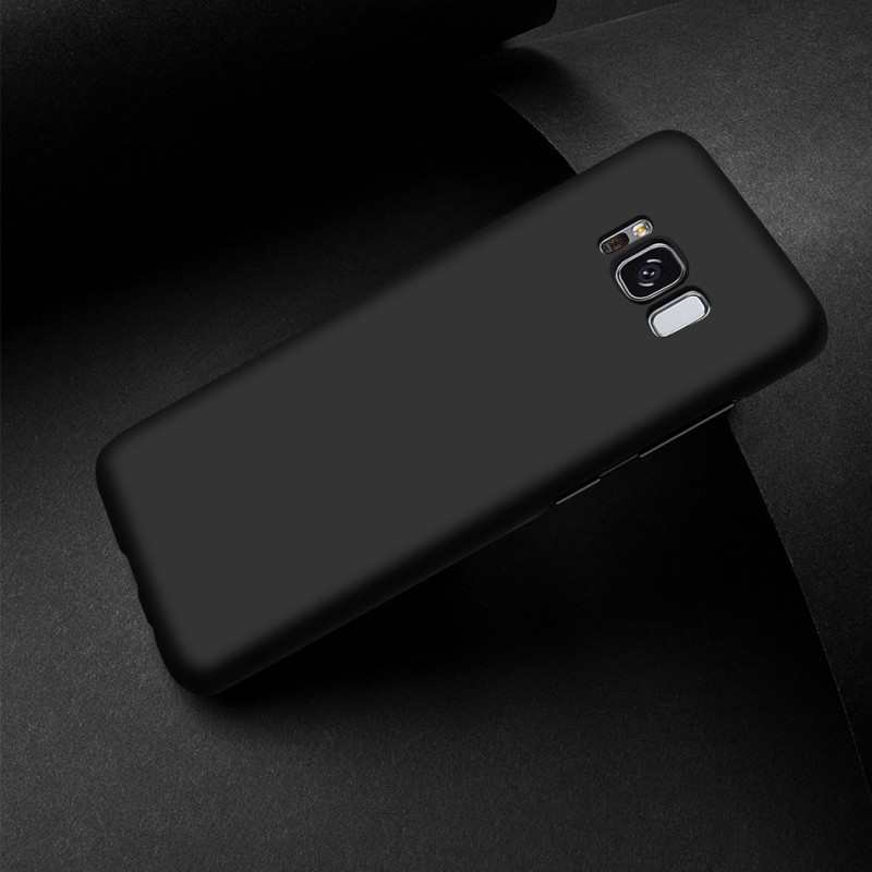 Professional Luxury Leather Back Case for Samsung Galaxy S8 Black