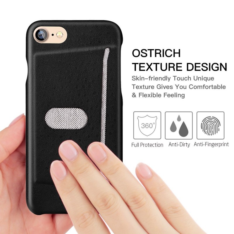 Premium  Shockproof Leather Case With Card Slot For iPhone 7