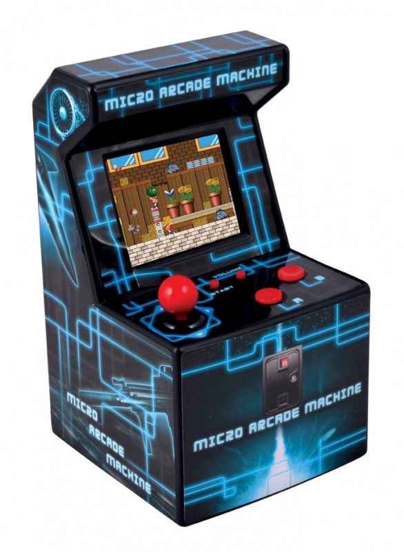 Micro Arcade Machine Handheld Gaming System with 200 Built-in Video Games