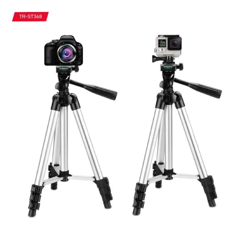 Tripod Stand with Mobile and Camera Holder