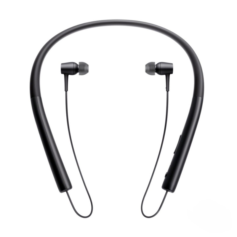 Trands Wireless Bluetooth Version 4.1 Stereo Headset Behind the Neck Style Black