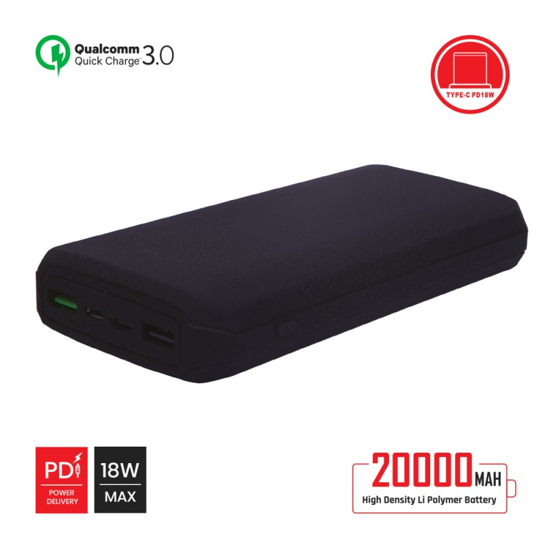 Power Bank QC 3.0 with PD 20000mah