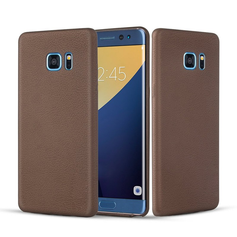 PU Leather Hard Back Cover for Samsung Galaxy Note 7