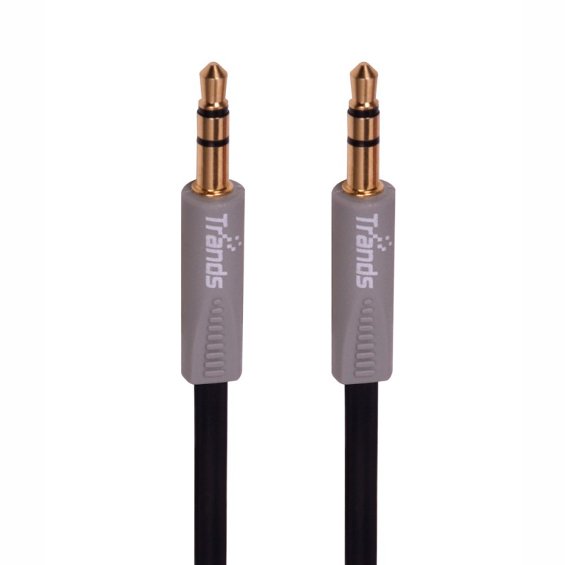 3.5 mm Male to Male Aux Audio Flat Cable , 2 Meter