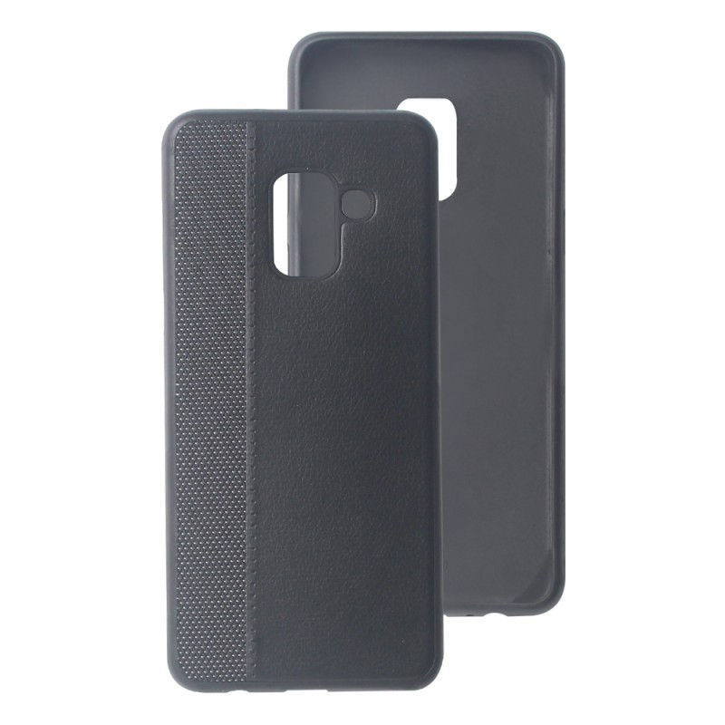 Leather Back Case For Samsung Galaxy A8