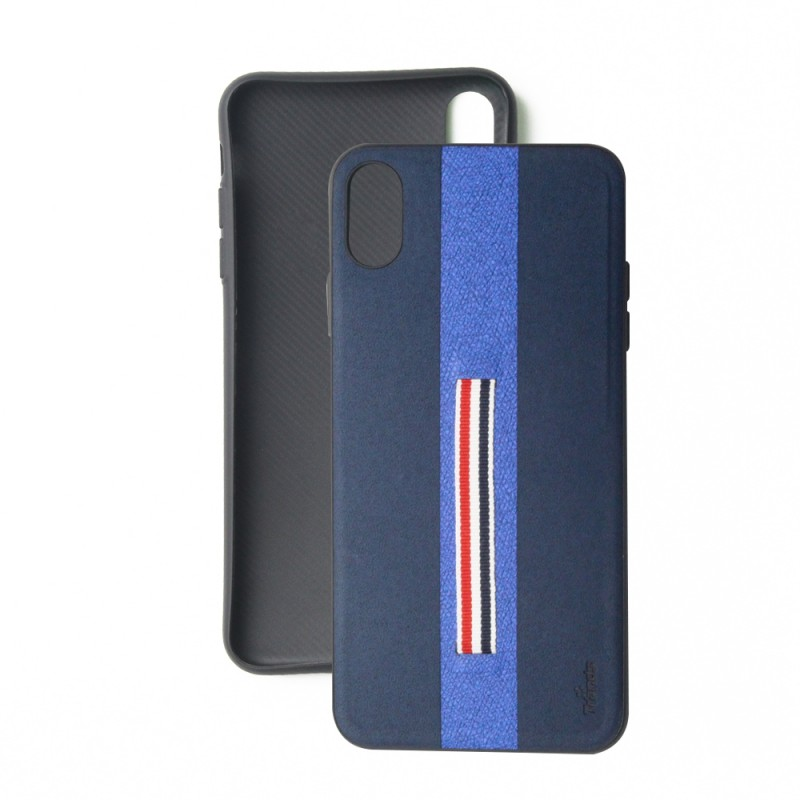 Leather back case For iPhone Xs Max