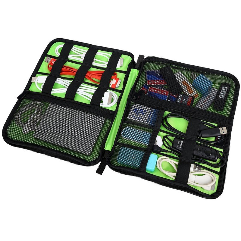 Multi functional Cable Organizer Bag & Charger Storage Pouch