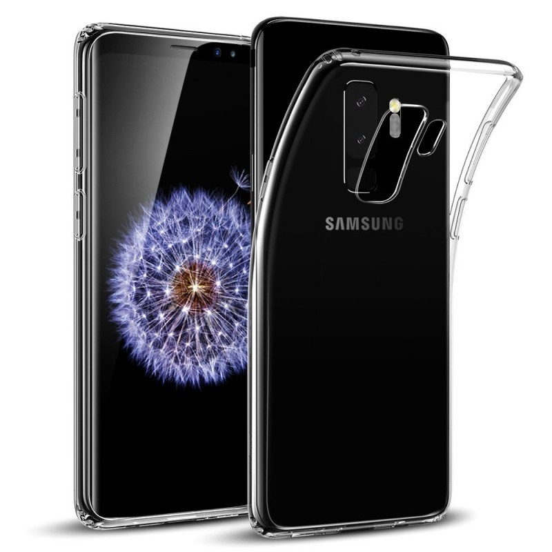 Trands Premium Quality Transparent Back Case for Samsung Galaxy S9 Plus