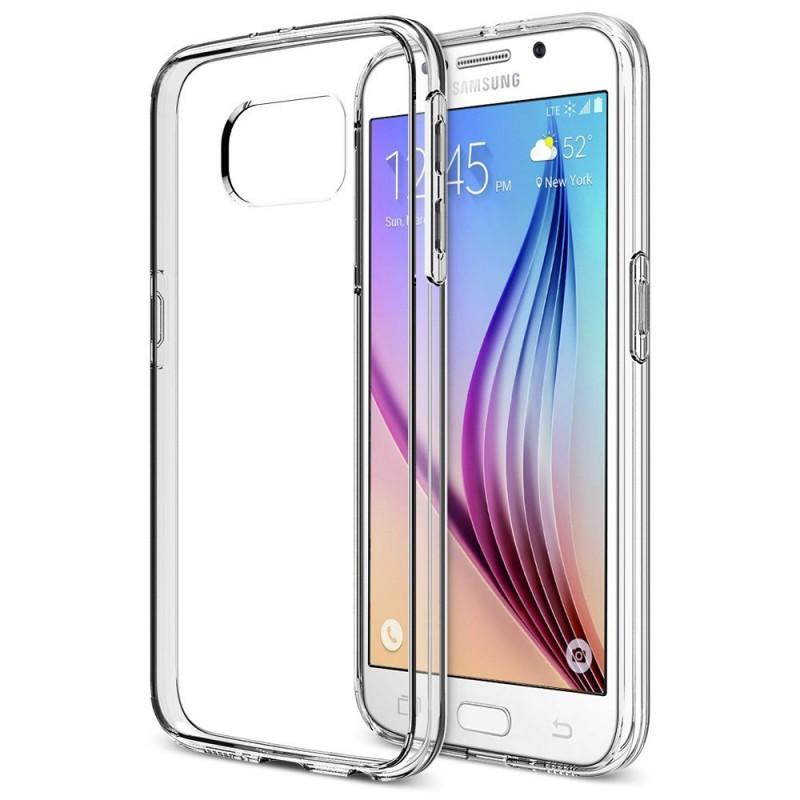 Ultra Crystal Flexible Slim Clear Case For Samsung Galaxy S6