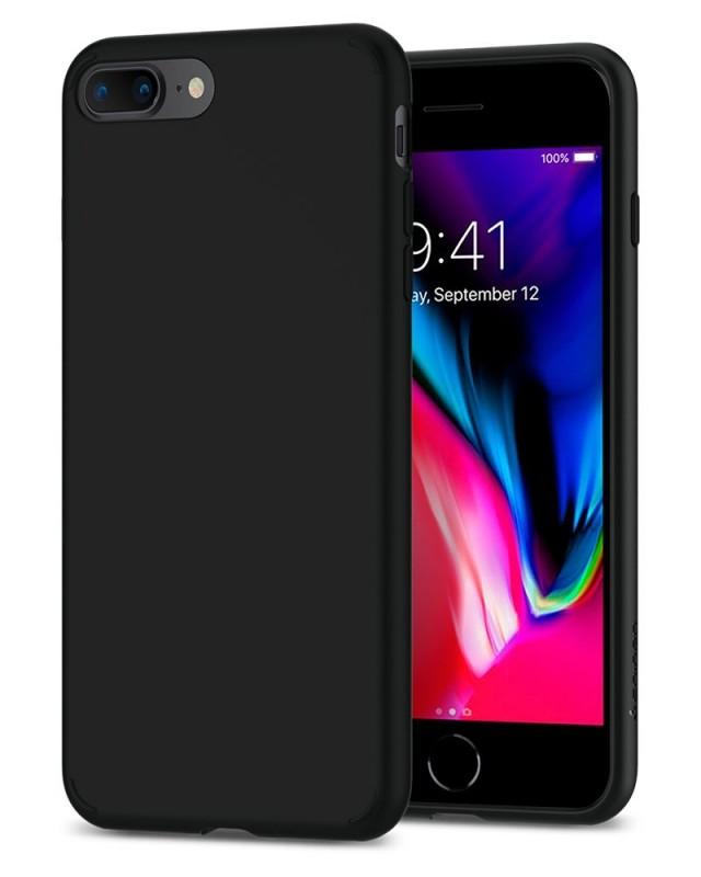 Premium Hard Leather Back Case for iPhone 8 Plus