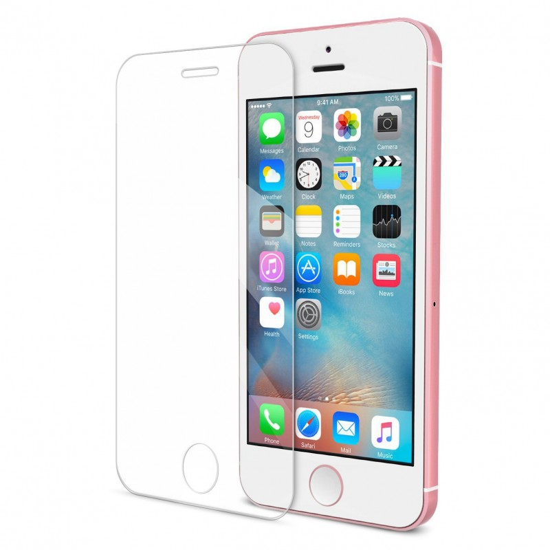 Ultra HD-clear Best Tempered Glass Screen Protector iphone 5SE