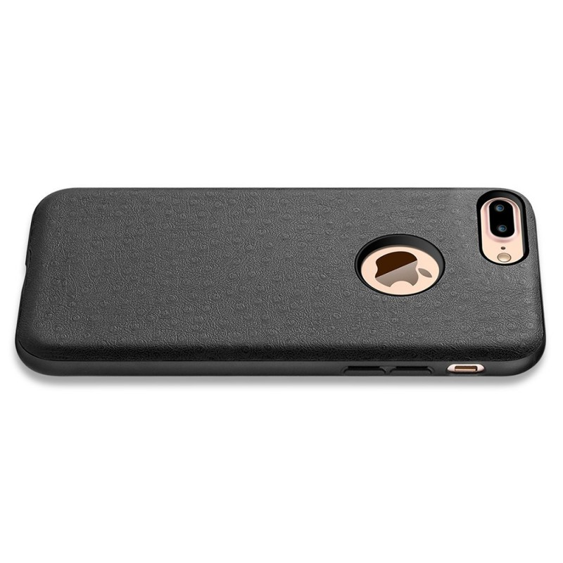 Protective Thin Shell Genuine PU Leather Back Case for iPhone 7 Plus