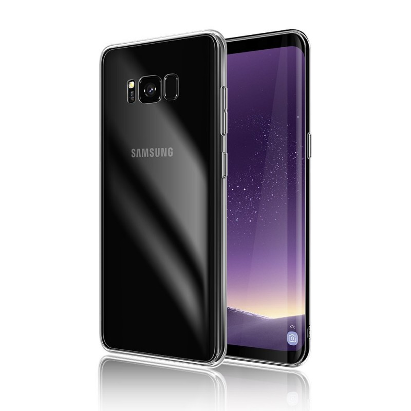 Trands Premium Quality Transparent Back Case for Samsung Galaxy S8