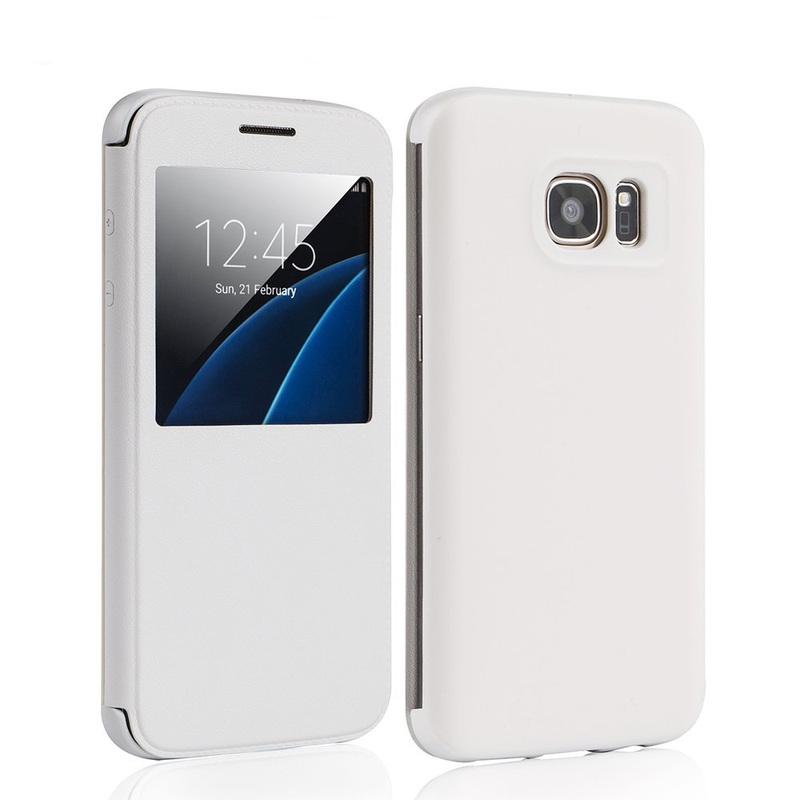Flip Case with Display Sensor for Samsung S7