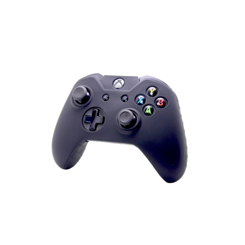 Silicone Protective Case skin For Xbox One Game Controller Console, Black