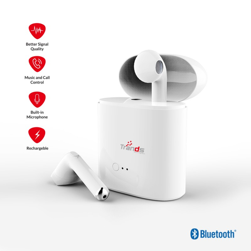 True Wireless Stereo Bluetooth earpod with Charging Dock