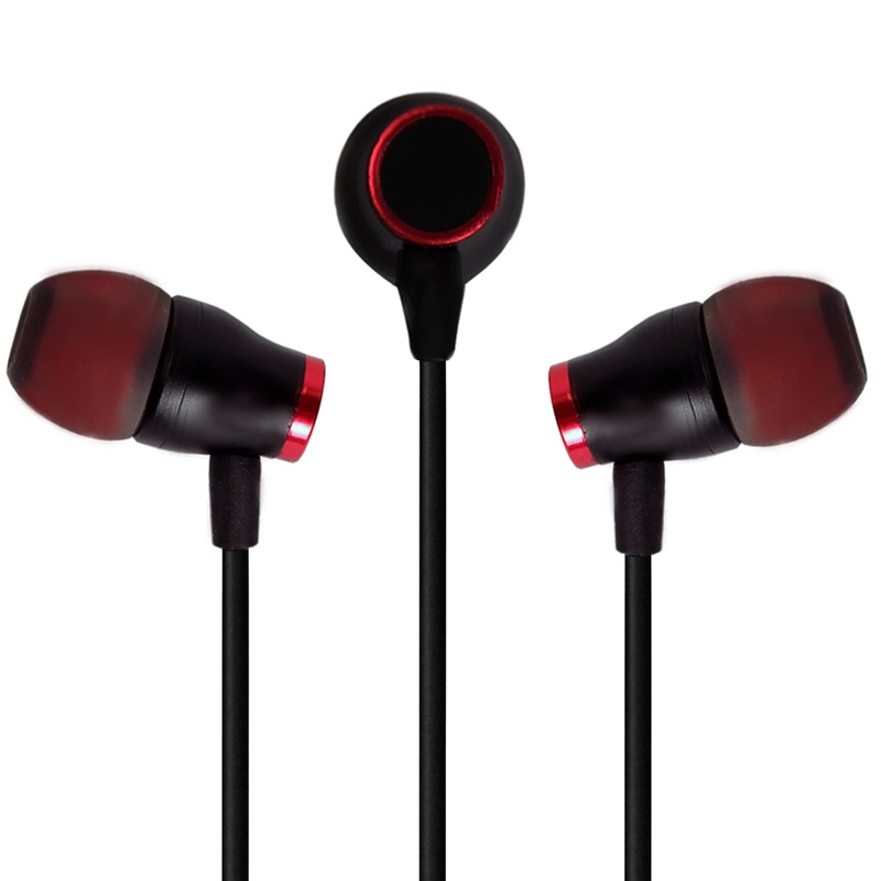 Stereo Metallic In-Ear Earphone with Mic