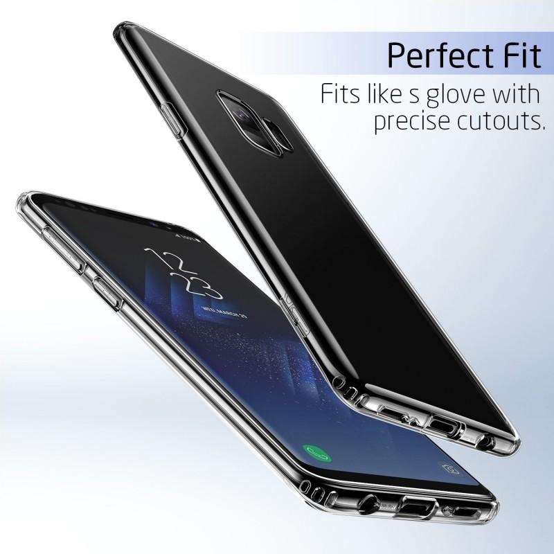 Trands Premium Quality Transparent Back Case for Samsung Galaxy S9