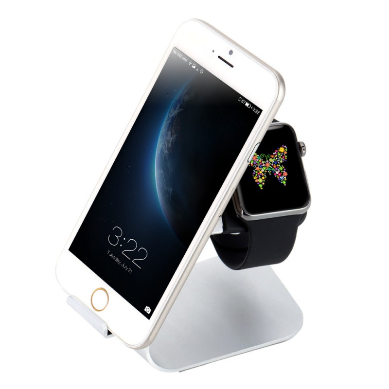2 in 1 iPhone and Apple Watch Charging Stand