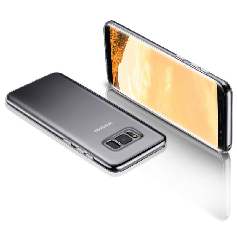 Premium Transparent Back Case for Samsung Galaxy S8 Plus