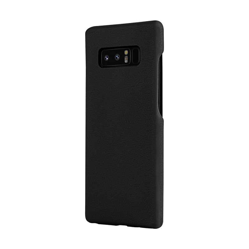 Premium Hard Leather Back Case for Galaxy Note 8