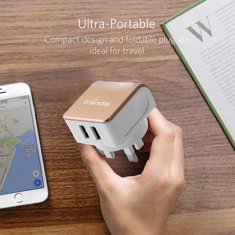 DUAL USB PORT LIGHTNING CHARGER
