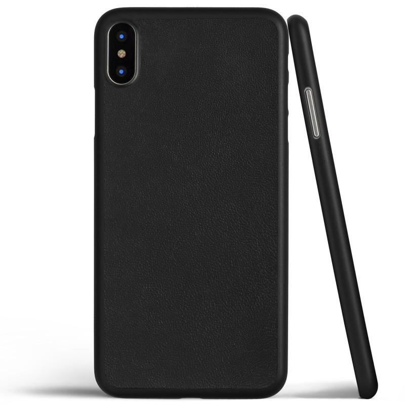 Trands Perfect Fit Slim Case Premium PU Leather Design for iPhone X