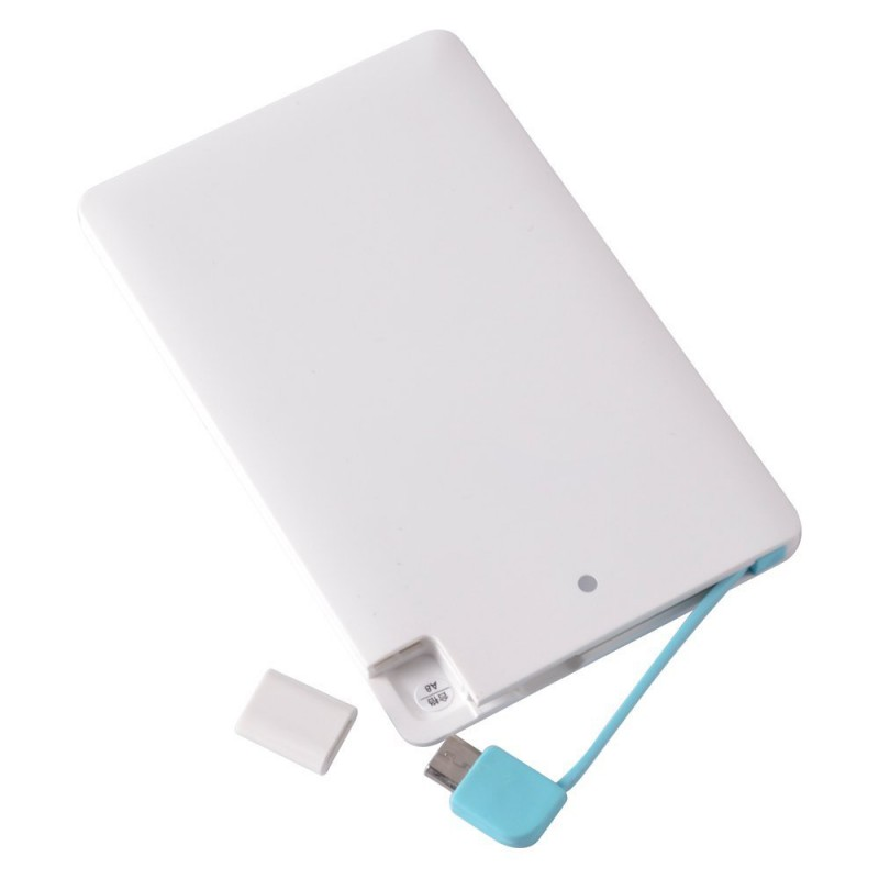 2000mAh Ultra thin Portable Lithium polymer Power Bank