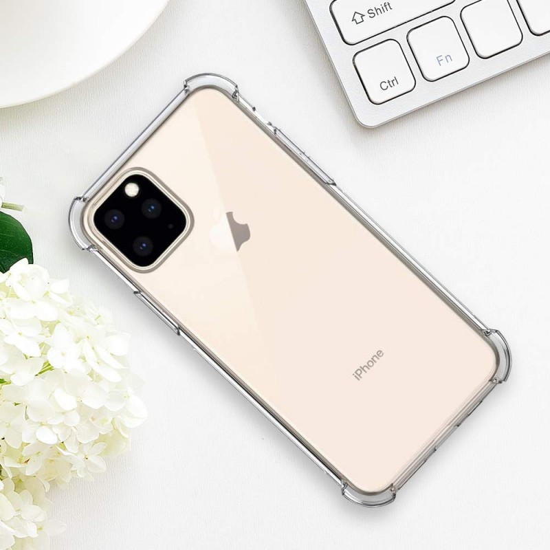 iPhone 11 Pro Max Case iPhone 2019 6.5 inch Soft TPU Shock Absorption. Cover Case Crystal Super Clear 2019