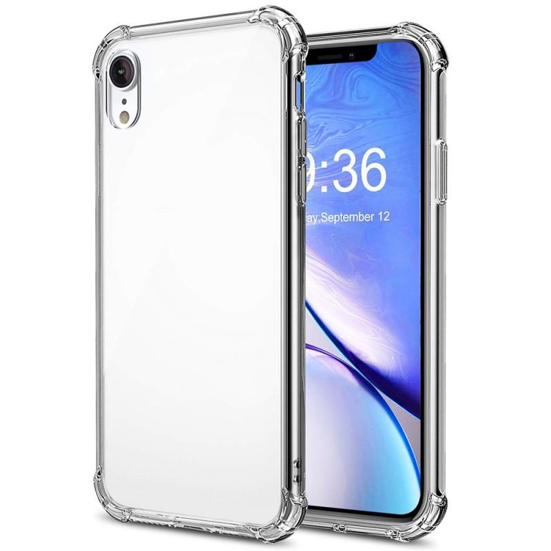 Transparent back case For iPhone Xr