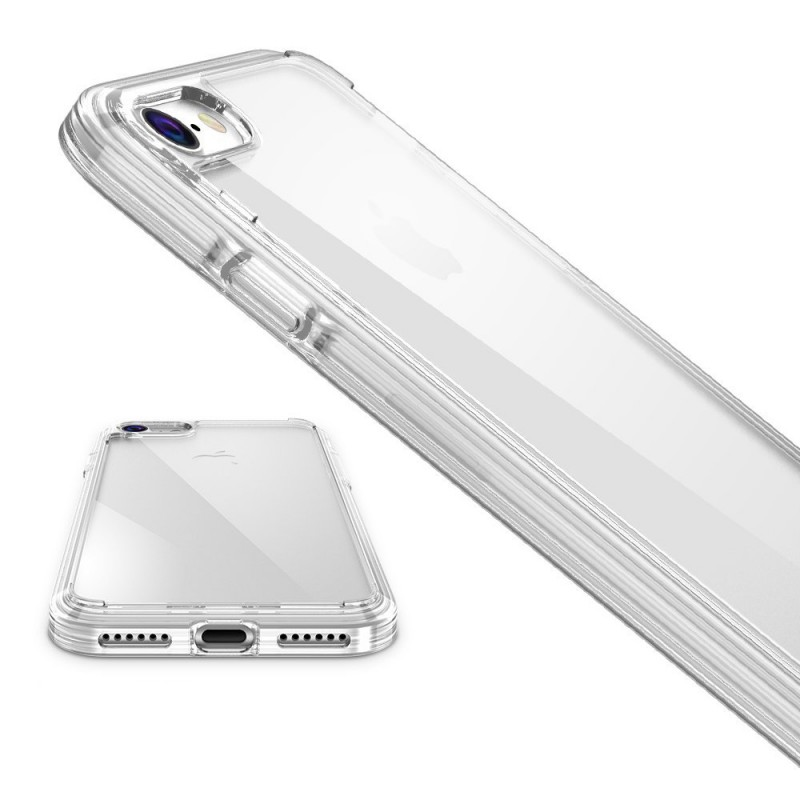 Silicon Shock Proof Clear Case for iPhone 7/ iPhone 7 Plus