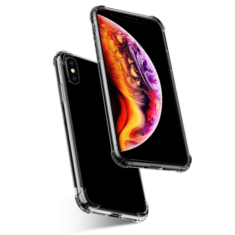 Transparent Back Case For iPhone Xs